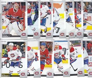 MONTREAL CANADIENS 2020-21 20-21 OPC O-PEE-CHEE HOCKEY TEAM SET (13) PRICE +