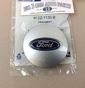 """Ford Flex Edge Taurus Explorer 17"""" 5 Spoke Wheel Center Cap Silver COVER OEM"""