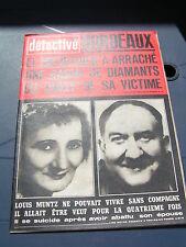 Détective 1968 1138 AIX EN OTHE CORCELLES CORMONDRECHE BOTTEREAUX DARNIUS LYON