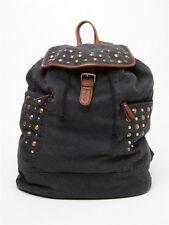 Roxy Camper Backpack Rock Star Casual School Book Bag Girls NEW NWT Black