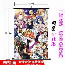 Hot Japan Anime Shokugeki no Soma Wall Poster Scroll Home Decor 545