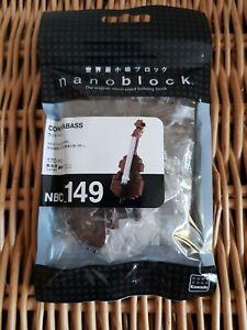 Nanoblock Contrabass Building Blocks Bricks Toy 170 pieces 12+ Years
