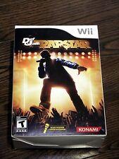 Brand Def Jam Rapstar Game with Microphone Bundle (Nintendo Wii, 2010) Sealed
