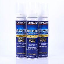 Minoxidil Foam 5% Hair Regrowth Men 3 months Kirkland Signature