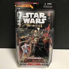 Hasbro Star Wars Comic Packs No.09 STAR WARS INFINITIES #4 (LEIA & DARTH VADER)