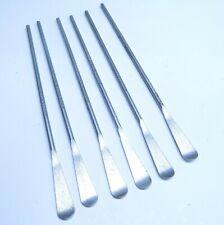 6 Pc New Aluminum Semco Sealant Spoons & Spatula Lot Aircraft Tools
