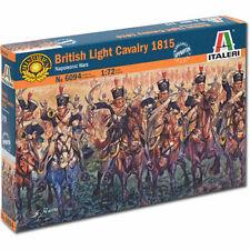 ITALERI English Light Cavalry Napoloenic Wars 6094 1:72 Figures Model Kit
