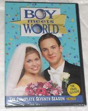 Boy Meets World: The Complete Seventh Season 7 Seven - DVD Set NEW & SEALED