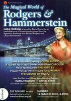 MARIA FRIEDMAN Theatre Flyer Handbill