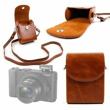PU Leather Case in Vintage Brown for Panasonic Lumix  DMC-LX10 |LX15 | DC-TX2