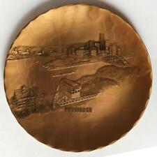 Wendell August Forge: Vintage handmade solid hammered finish bronze r. Lot 13H