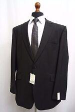 Men's Centaur BIG & TALL Black Pinstripe Suit 46 L W40 L33 SS9900
