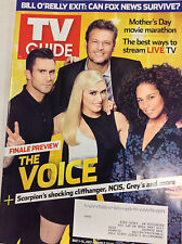 TV Guide Magazine The Voice NCIS Grey's May 1-14, 2017 071017nonr