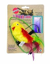 Spot Ethical A - Door - Able Bouncing Plush Bird with Feather Free Shipping