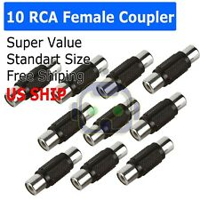 Rca Connector Female To Female for sale | eBay