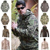 Men's Outdoors Military TAD Shark Skin Jacket Soft Shell Tactical Waterproof New