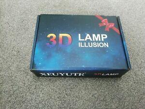 3D Lamp Illusion Xeuyutr - Dinosaur