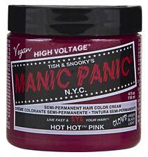 (3 Pack) MANIC PANIC SEMI-PERMAMENT HAIRCOLOR HOT HOT PINK 4 Ounce JAR