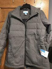NWT Columbia Women's SZ M Achen Lake EXS Jacket Coat Winter Black NWT