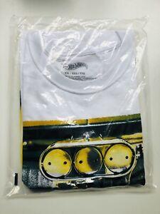 2021 Hot Wheels Legends Tour T-shirt Size XXL Unopened/Unworn In Sealed Bag