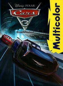 💖 MEGA CARS 3 DISNEY PIXAR CARS 3 Malbuch MULTICOLOR Disney®
