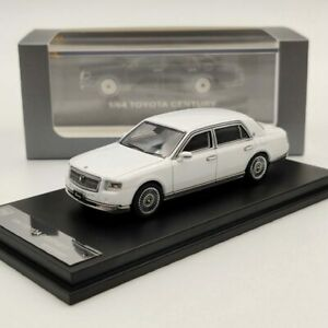 DCM 1:64 Toyota Century White Diecast Models Car Limited Edition Collection