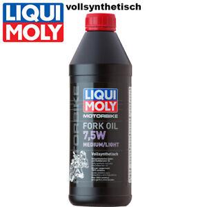 Liqui Moly Motorbike Gabelöl 2719 7,5W medium/light vollsynth. 1Liter Fork oil