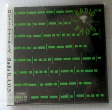 ROGER WATERS - Radio Kaos JAPAN MINI LP CD NEU! MHCP-692 Pink Floyd