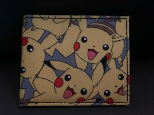 Pokemon Pikachu Bifold Wallet NWOT
