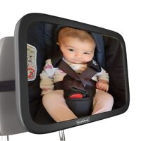 New Large Wide View Car Baby Child Inside Back Seat Mirror View Rear Ward Safety