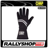 OMP DIJON Karthandschuh Handschuhe Professionell  Motorsport Schwarz