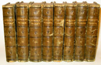 LEATHER Set;Works of LORD BYRON! (FIRST EDITION! 1825)Shelley Poetry Keats RARE!