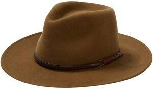 Stetson Bozeman Outdoor Crushable Wool Felt Unisex Hat, Multiple Colors, USA