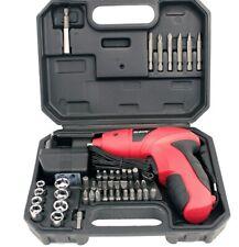 Destornillador Atornillador Inalambrico bateria recargable 44 puntas 4 8v DC
