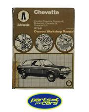 Autobooks - Car Manual - Vauxhall Chevette, 1975-81