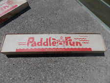 "V-Rare Vtg. ""Paddle Fun"" Oars/Paddles Connect to Inner Tubes"