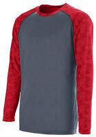 Augusta Sportswear Men's Polyester Long Sleeve Fast Break Jersey T-Shirt. 1726