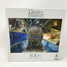 Buffalo Games - Game of Thrones - For The Throne - 500 Piece Jigsaw Puzzle