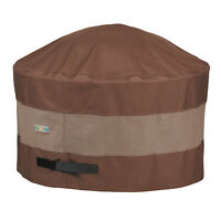 Duck Covers Heavy Duty Patio Round Fire Pit Cover, Ultimate