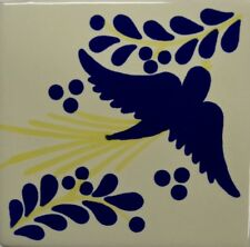 Pajarito Amarillo (Yellow) Talavera Tile
