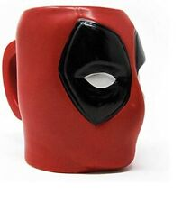 Sous Licence Officielle de Collection Deadpool 3D Sculptée Tasse - Marvel