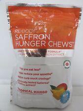 Re Body Saffron Hunger Chews **Tropical Mango** - 30 Soft Chews Supplements