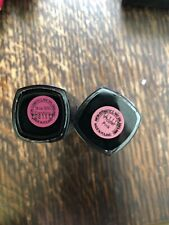 Avon True Colour Lipstick New Sealed x 2 Proper Pink, Wine With Everything
