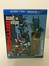 Batman: Assault on Arkham (Blu-ray/DVD, 2014)