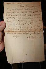 Va Revolutionary War Soldier's Land Award 1782 James Kemp Louisville Ky