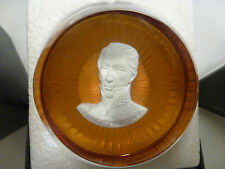 Franklin Mint 1975 Great Leaders of History SIMON BOLIVAR PAPERWEIGHT box papers