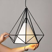 New WINSOON 1 Pc. RETRO Industrial Pendent Metal Ceiling Cage Light Lamp Shade