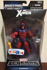 """Magneto - Marvel Legends Jubilee BAF TRU wave 6"""" X-Men Toys R' Us - Discontinued"""