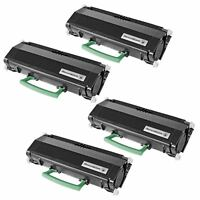 4PK Toner Cartridge for Lexmark E260A11A BLACK E260d E260dn E360d E360dn E462dtn
