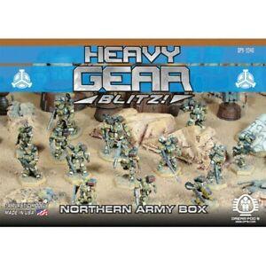 Heavy Gear Blitz Northern Army Box Set (14 Models) DP9-9340